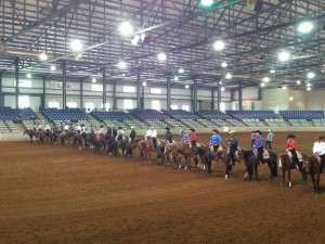 Inside the show ring