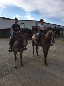 We love seeing mothers and daughters ride together!