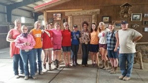 What a lovely group of young ladies from the Anderson County 4-H Group!