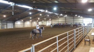 Check out the turnout from our first roping competition!