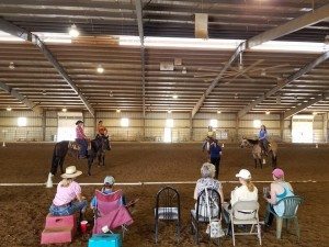 Our clinic attendees definitely learned a lot in their horsemanship!