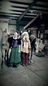 What's more fun than costumes with horses and mules? Not much!