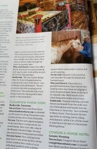 A sneak peek inside the magazine!